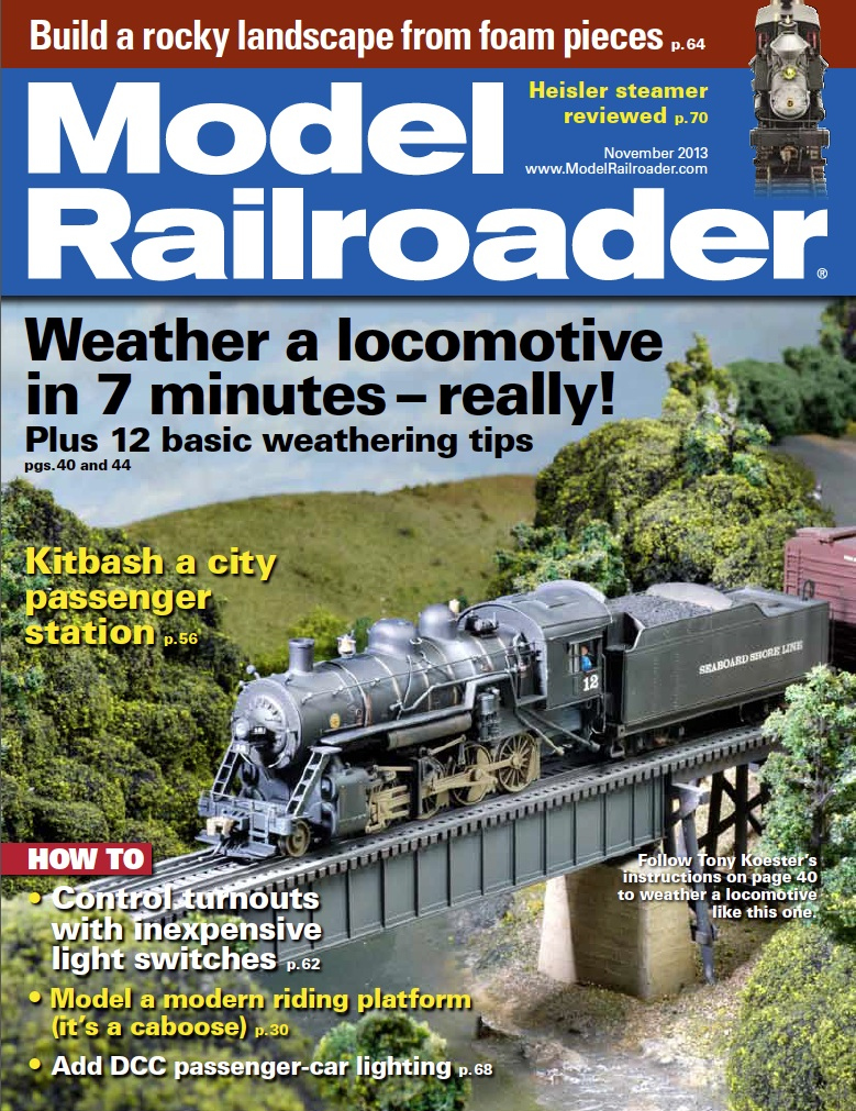 Model Railroader Cover Nov 13