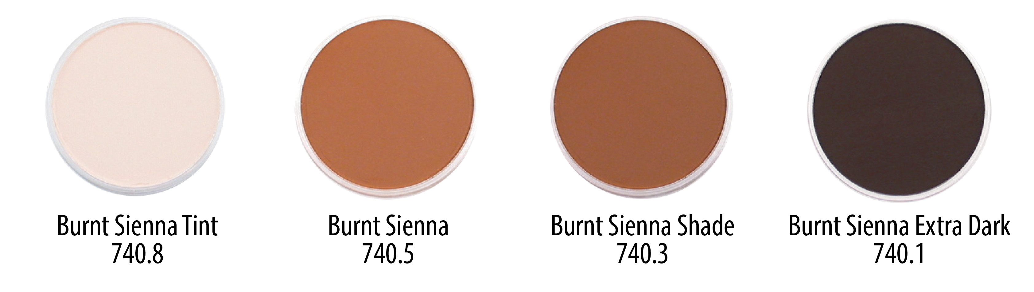 Pans - Tints to Extra Dark BURNT SIENNA