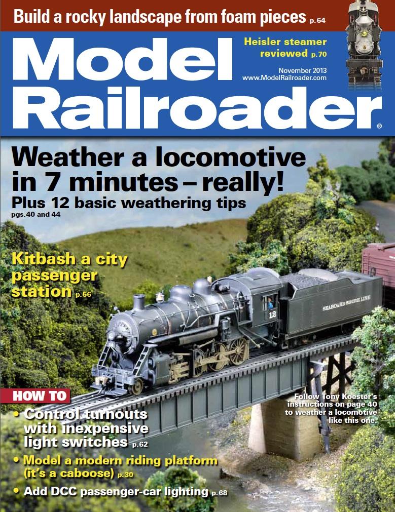 Model Railroader Cover Nov 13